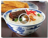FRIED MACKEREL PORRIDGE