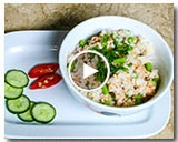 TUNA, ASPARAGUS & CRAB FRIED RICE