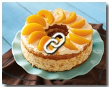 PEACH MOUSSE CAKE